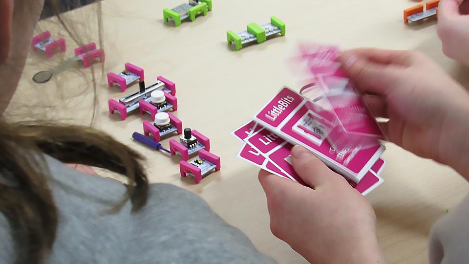 Défis des LittleBits conçus par Vincent Belletête
