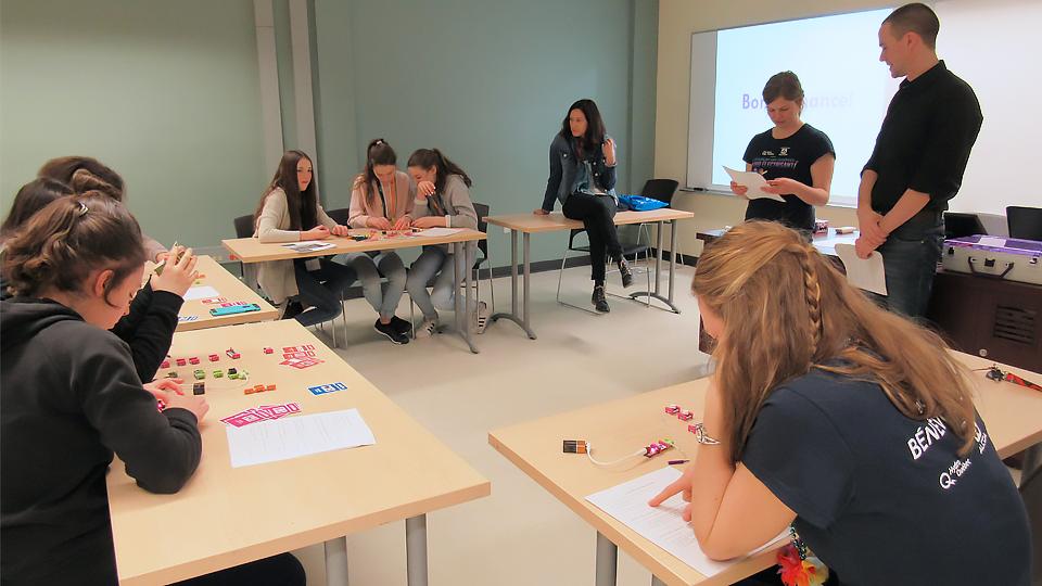 Atelier d'électronique avec les LittleBits