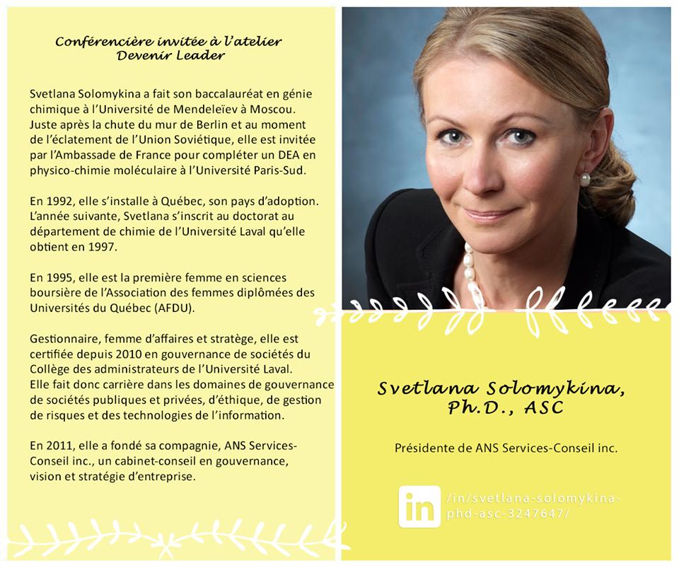 Mme Svetlana Solomykina
