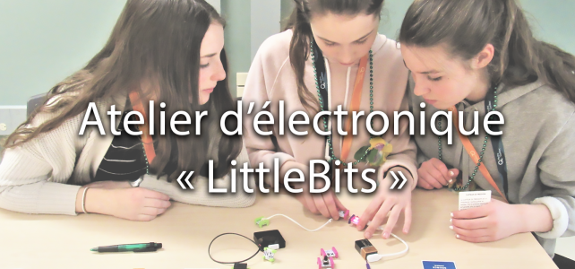 Atelier d'électronique « LittleBits »