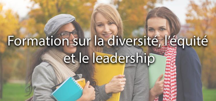 Formation sur la diversité, l'équité et le leadership