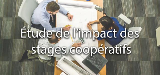 Étude de l'impact des stages coopératifs