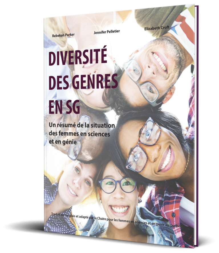 Diversité des genres en SG : un résumé de la situation des femmes en sciences et en génie