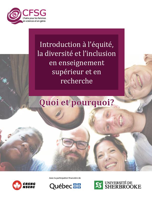 Document de référence : Introduction èa l'équité, la diversité et l'inclusion en enseignement supérieur et en recherche