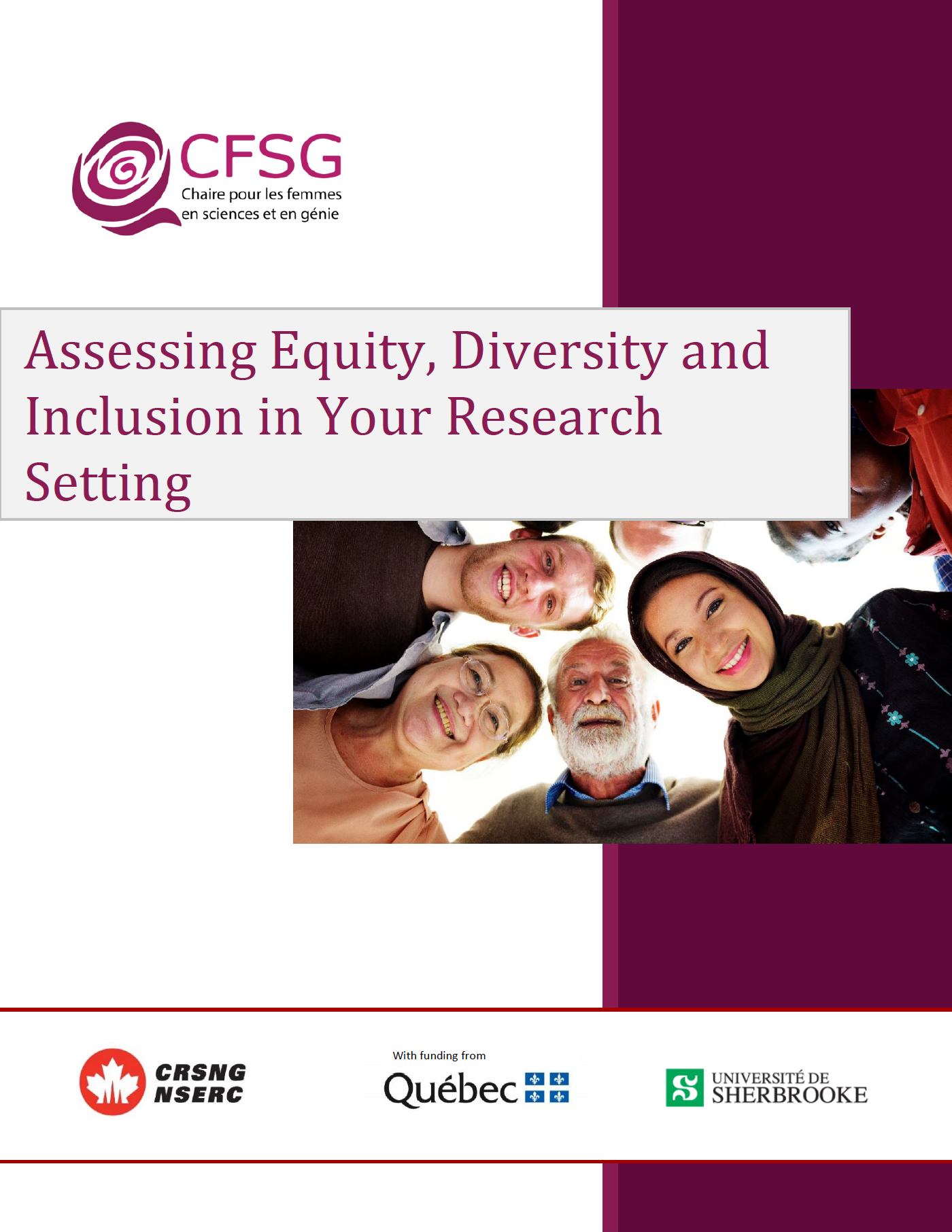 Assessing Equity, Diversity and Inclusion in Your Research Setting