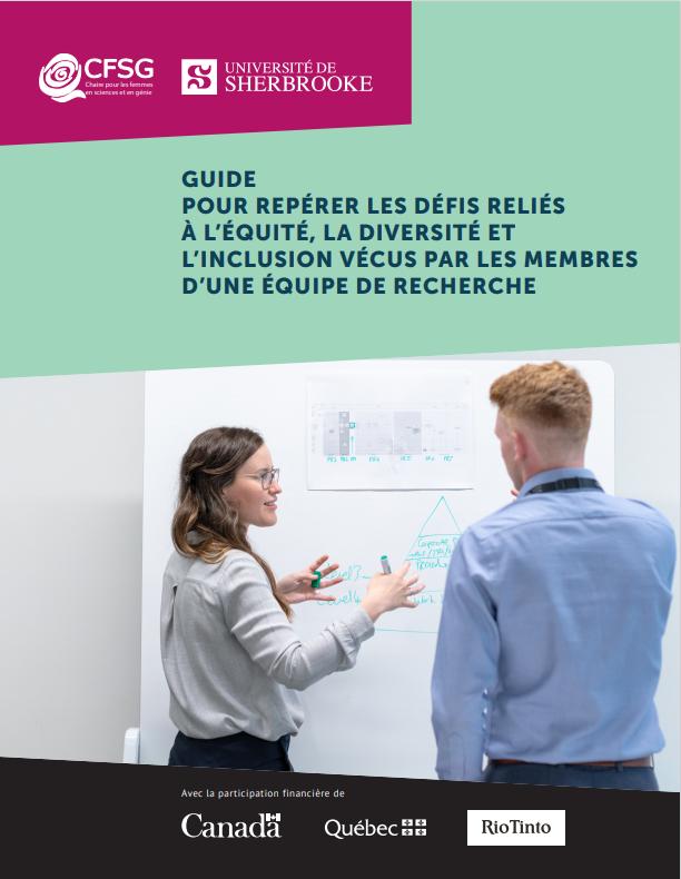 Geuide pour repérer les défis reliés à l'équité, la diversité et l'inclusion vécus par les membres d'une équipe de recherche