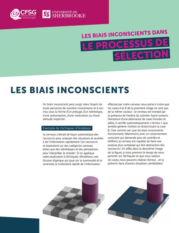Les biais inconscients dans le processus de sélection